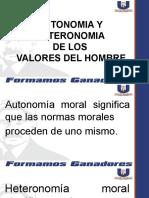 5- ATONOMIA Y HETERONOMIA DE LOS VALORES DEL HOMBRE