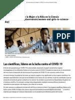 Día Internacional de la Mujer y la Niña en la Ciencia _ Naciones Unidas