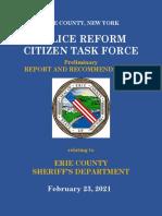 Police Reform Task Draft