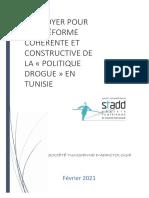 Plaidoyer Societe Tunisienne d Addictologie