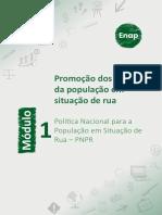 Módulo 1-Política Nacional para a População em Situação de Rua - PNPR