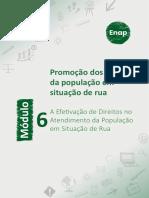 Módulo 6 - A Efetivação de Direitos No Atendimento Da População Em Situação de Rua