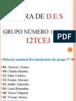 MUDANÇAS & DESISTABILIDADES SOCIAS