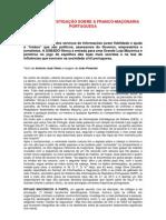 2ª Investigação à Maçonaria (Envolvimento do SIS).