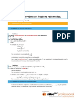 Cha 13 - Cours - Polynômes Et Fractions1