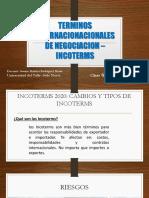 CLASE 6- TERMINOS INTERNACIONACIONALES DE NEGOCIACION –INCOTERMS 2020