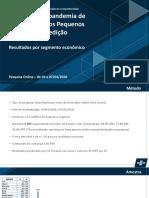 Pesquisa O impacto do Coronavírus nos pequenos negócios - Pesquisa completa  nº2 (09042020