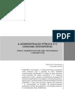 ZIMMERMANN,C.L. A Adm. Púb. e o consumo sustentável