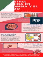 Industria carnica en colombia y el mundo