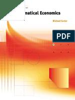 Foundations of Mathematical Economics