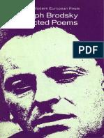 Brodsky, Joseph - Selected Poems (Penguin, 1973)