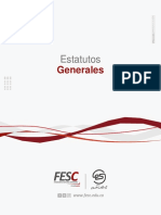 Estatuto General Fesc