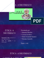 Ética  a Nicómaco diapositivas.