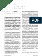genetic modification of intestinal lactobacillus and bifidobacteria