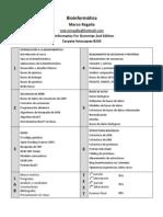 Programa Curso Bioinformatica