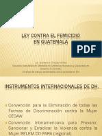 Ley contra el Femicidio en Guatemala