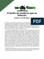 Borges, Jorge Luis - El jardin de los senderos que se bifurcan