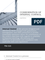 CONSIDERATION OF  INTERNAL CONTROL.ppt