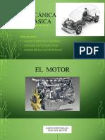 El Motor (Partes y Funcionamiento)