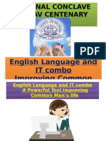English Language and IT