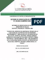 B Retrazos Conograma Hospital Antonio Lorena CONTRALORIA 06 AL 22 de ENERO 2021