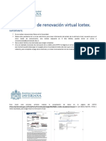 Instructivo de renovación virtual Icetex PDF