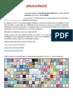 Actividades de La Web 2.0 Ispp1 y Ifd5 Real