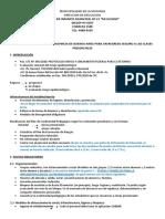 PLAN JURISDICCIONAL DE LA PROVINCIA DE BUENOS AIRES PARA UN REGRESO SEGURO A LAS CLASES PRECENCIALES (1)