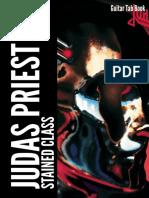 Judas Priest-Stained Class Guitar Tab eBook