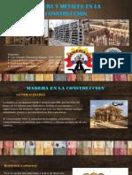 MADERA Y METAL EN LA CONSTRUCCIÓN