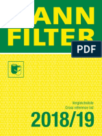 Mann Filter Cross Reference