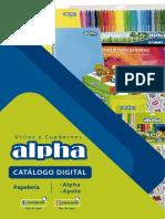 Catalogo Papeleria Alpha
