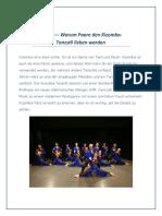 Grund — Warum Paare Den Kizomba-Tanzstil Lieben Warden