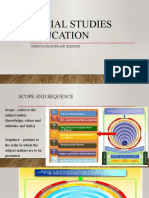 Module. Social Studies Education Scope and Sequence