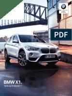 Tarifs BMW X1