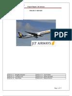 Project Report-Jet Airways