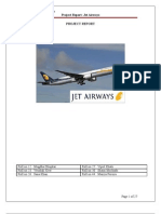 Project Report-Jet Airways