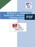 3. MODULO 3. PRIMEROS AUXILIOS Y PROT. INCENDIOS