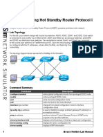 9-Troubleshooting Hot Standby Router Protocol I