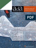 AdA Archeologia Delle Alpi Studi in Onor