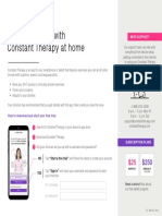 Constant Therapy Patient Brochure