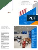 Cj Logistics Sustainability Report 2017-2018 En