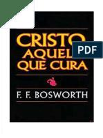 Qdoc.tips Cristo Aquele Que Cura f f Bosworth