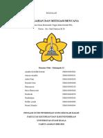 Kelompok 12 Pencegahan dan mitigasi Bencana.PKL