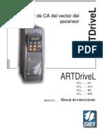Copia de Siei Variador ARTDrive L Manual Ingles