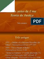 Rawls Antes de Uma Teoria Da Justiça