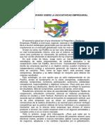 Ensayo Literario La Asociatividad Empresarial.doc