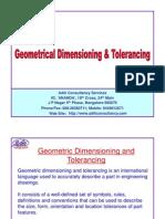 GD&T Training Sample Slides