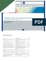 Diversity within the European territory