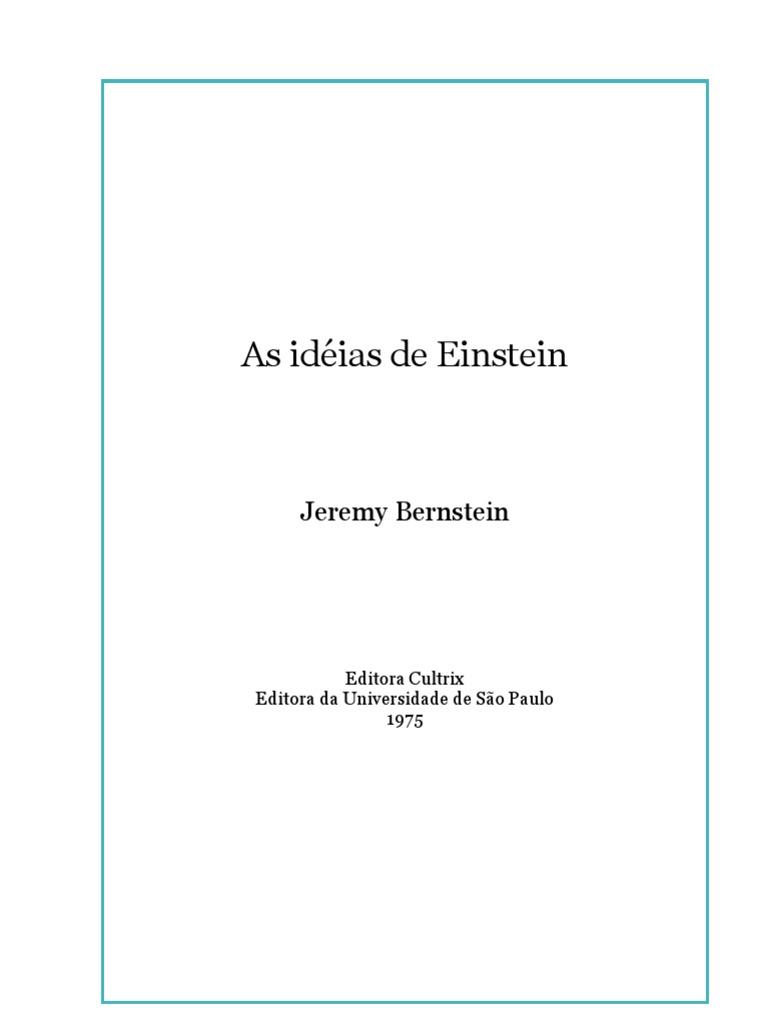8f57f869afb As Idéias de Einstein